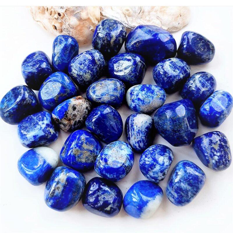 lapis lazuli med pyrit AA