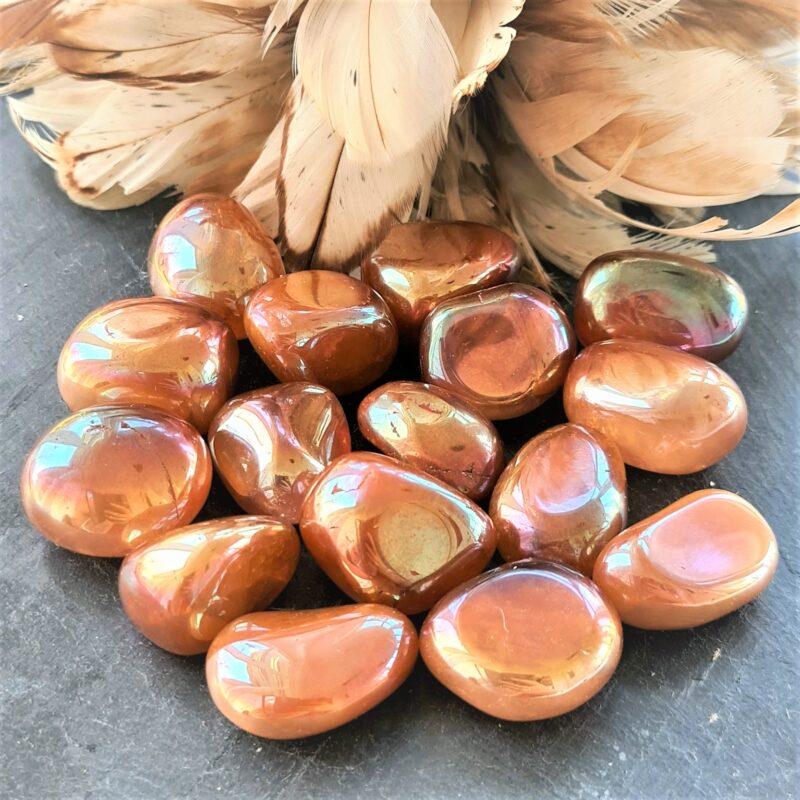 tangerin aura quartz AA