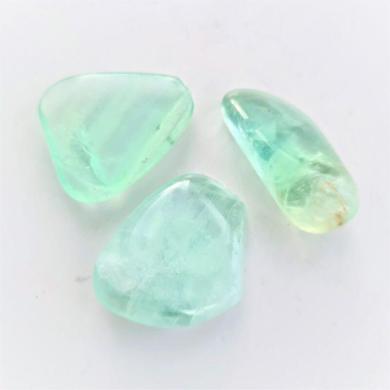 grön fluorit - skönhetsfel